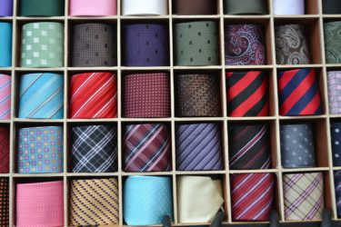 ネクタイの種類による印象の違いと用途を徹底解説!ビジネスマン必見!